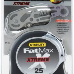 Stanley 94-553 25-Foot Fatmax Xtreme Tape Rule With Free Skelaton Knife
