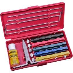 Lansky - Deluxe 5-Stone Alumina Oxide Precision Knife Sharpening Kit