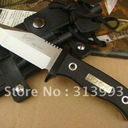 """Discovery To Explore """"Wilderness Survival"""" Knife Bell Survive In The Wild (T Version) Bear Grylls Knive Ii"""
