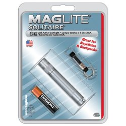 Maglite - Solitaire Blister Pack, Grey