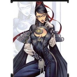 "Bayonetta Game Fabric Wall Scroll Poster (31""X42"") Inches"