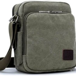 American Shield Travel Gear Ipad Tablet Small Single Shoulder Bag. For Wallet Credit Card, Watch.Outdoor Exercise Sport Pocket Purse Passport Cover.Ag-Qg2-C4 Greygreen