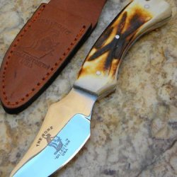 Bone Collector Hand Made Skinning / Hunting Knife Bc807