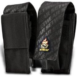 """Setwear Mini Tool Pouch (8"""" X 4"""") - Black"""