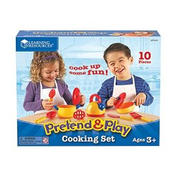 Pretend And Play Cooking Set By Learning Resources