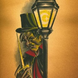 The Ripper By Charlie Coffin Jack The Serial Killer In London Canvas Art Print
