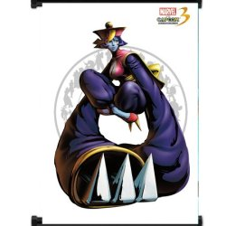 Marvel Vs Capcom 3 Hsien Ko Game Fabric Wall Scroll Poster (16X21) Inches
