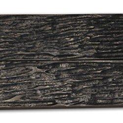 Black Buffalo Horn Scales Handle Handles Knife Making Blanks Blades Knives Set 5 Inch For Custom Handles