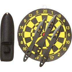 Rampant 4Pc Knife Throwing Set - Skthrdtsm