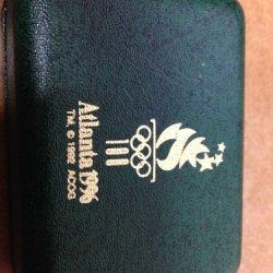 Swiss Army Knife 1996 Atlanta Olympic American Flag White Classic Vintage