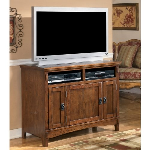 Image of Brown 42 inch TV Stand (ASLYW319-18)