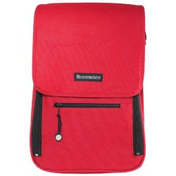 Messermeister Red 6 Pocket Knife Storage Messenger Bag