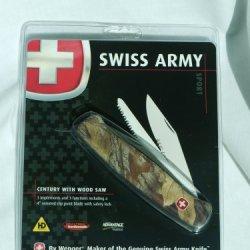 Swiss Army Sport -- Century With Wood Saw
