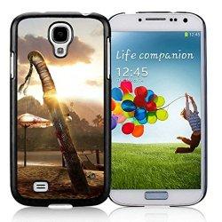 Diy Dead Island Knife Blood Sunset Sand Samsung Galaxy S4 I9500 Black Phone Case
