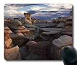 Bisti Badlands New Mexico Mouse Pad, Customized Rectangle Mousepad,Mouse Mat,Gaming Mouse Pad by iCustomonline