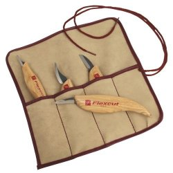 Flexcut 4-Piece Carving Knife Set