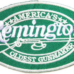 Remington Gunmaker Rifle Pistol Gun Firearms Knife Logo Jacket T Shirt Patch Sew Iron On Embroidered Symbol Badge Cloth Sign By Prinya Shop