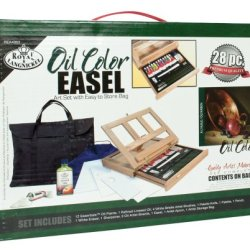 Royal & Langnickel Oil Color Easel Art Set With Easy To Store Bag