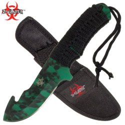 New Full Tang Zombie Slayer Gut Hook Knife Rdx9700Gsca