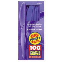 Amscan 236447 New Purple Big Party Pack - Knives