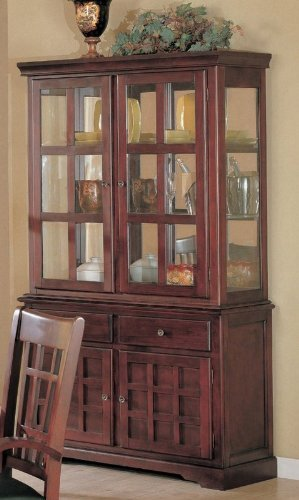 Image of Willow Buffet and Hutch by Coaster (VF_AZ00-45666x28655)