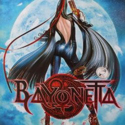"""J-1952 Bayonetta Pc Ps3 Game Wall Decoration Poster Size 23.5""""X35"""""""