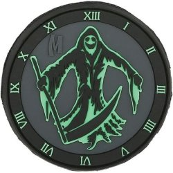 Maxpedition Gear Reaper Patch, Glow, 3 X 3-Inch