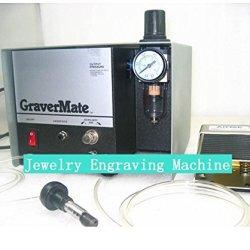 Gowe Pneumatic Jewelry Engraving Machine Single Ended Graver Mate Graver Tool Jewelry Engraver