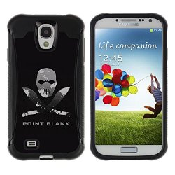 Tiktaktok Armor Defend Case Cover For Samsung Galaxy S4 - Point Blank Machete Face