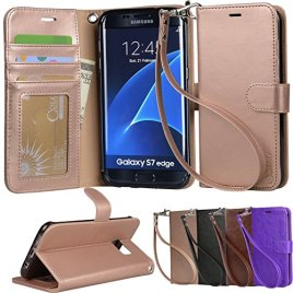 Galaxy-s7-edge-Case-Arae-Wrist-Strap-Flip-Folio-Kickstand-Feature-PU-leather-wallet-case-with-IDCredit-Card-Pockets-For-Samsung-Galaxy-S7-edge