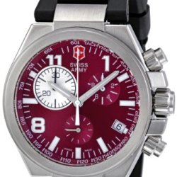 Victorinox Swiss Army Men'S 241159 Burgundy Dial Chronograph Watch