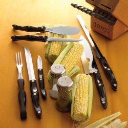 Cutco Cutlery Galley +6 Set Like New