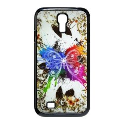 Generic Mobile Phone Cases Cover For Samsung Galaxy S4 Case I9500 Case Fashionable Art Designed With Beautiful Butterfly Personalized Shell Cell Phone Protect Skin