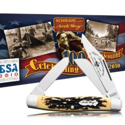 Schrade 885Uhbsat Uncle Henry Senior Rancher Boy Scouts Of America 100Th Anniversary Collector'S Tin