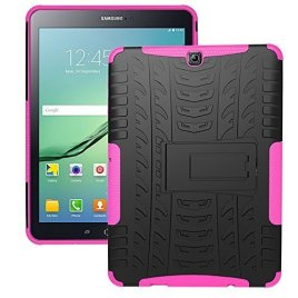 DWay-97inch-Samsung-Galaxy-Tab-S2-T810-Case-Hybrid-Armor-Design-with-Stand-Feature-Detachable-Dual-Layer-Protective-Shell-Hard-Back-Cover-Case-for-Samsung-Galaxy-Tab-S2-97inches-SM-T810-T815
