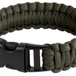 Survival Bracelet, 8 In., Olive Drab - Boker Outdoor