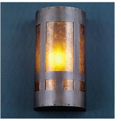 5 Inch W Mica Mission Wall Sconce Wall Sconces