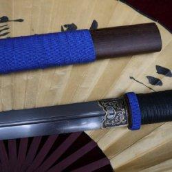 Chinese Sword Sale/Folding Steel/Handmade/Rosewood/Full Tang