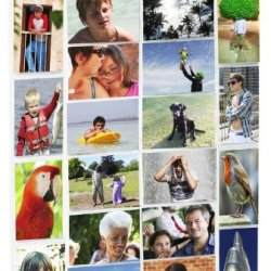 Picture Pockets Photo Hanging Gallery - 40 Photos In 20 Pockets