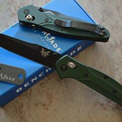 Benchmade 940Bk Osborne Axis Lock Knife W/ Free Benchmade Mini Sharpener