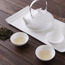 Granvela Tea Sets Tea Cups Pure Bone China Business Style Designed Artworks A Pot Of 4 Cups And A Saucer