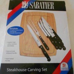 Sabatier Steakhouse Carving Set
