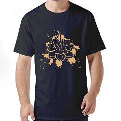 Funny Yoga Abstract Lotus Man T Shirt