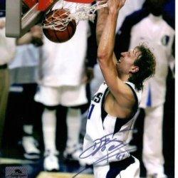 Dirk Nowitzki Autographed Dallas Mavericks 8X10 Photo - Jsa
