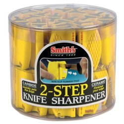 Smiths Sharpeners Two-Step Knife Sharpener, 24 Units Smicckb