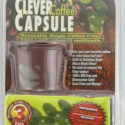 Clever Coffee Capsule 3 Pack Brown