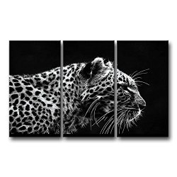 3 Piece Wall Art Painting Leopard Art Drawing Pictures Prints On Canvas Animal The Picture Decor Oil For Home Modern Decoration Print