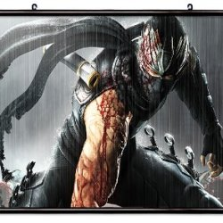 """Ninja Gaiden Videogame Fabric Wall Scroll Poster (32"""" X 20"""") Inches"""