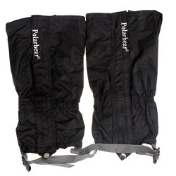 Changeshopping(Tm) Waterproof Outdoor Hiking Walking Climbing Hunting Legging Gaiters (Black)