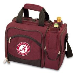 Exclusive By Picnictime Insulated Pack With Picnic Service For 13/Burgundy-Alabama University (Embroidery)